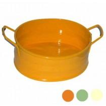 BACINELLA LATTA OVALE cm 14/20 arancio MACHIERALDO 8010303905539